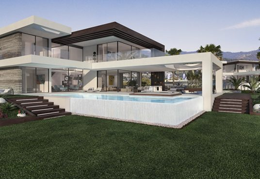 luxury independent villas for sale in cancelada estepona