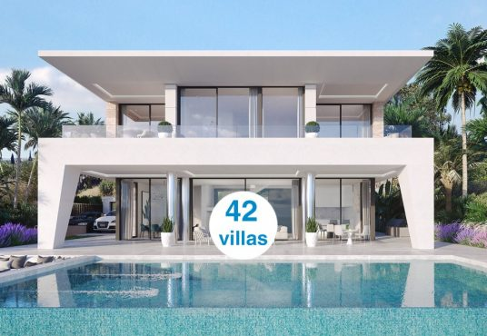 new development of luxury villas for sale in la duquesa