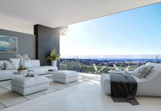 Contemporary Apartment For Sale in Estepona