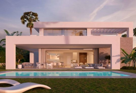 contemporary villas for sale in mijas