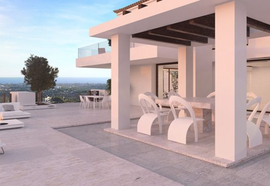 Andalusian Style Villa For Sale benahavis